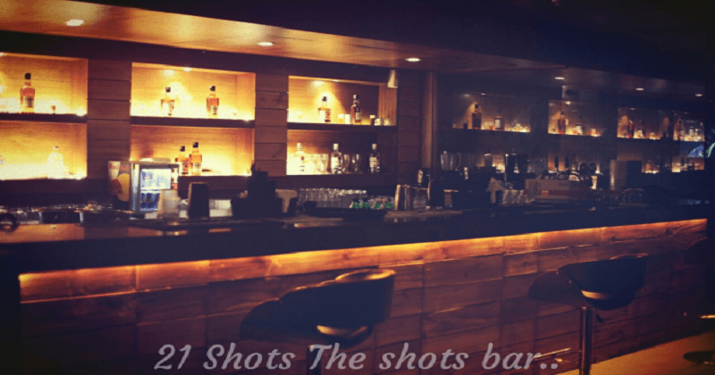 21 Shots - The Shot Bar