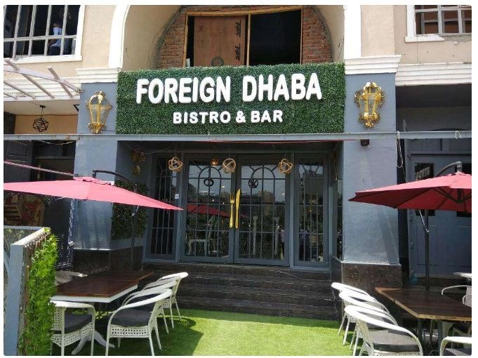 Foreign Dhaba Bistro / Bar & Courtyard